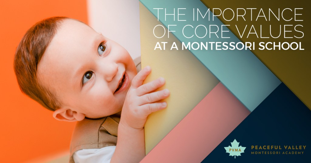 THE IMPORTANCE OF CORE VALUES AT A MONTESSORI SCHOOL