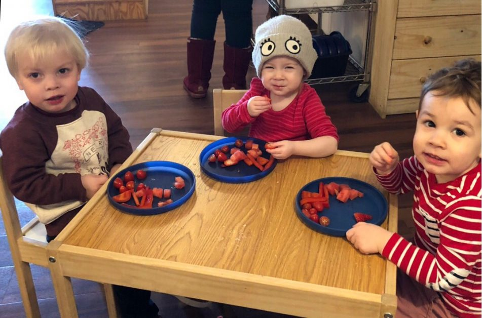 MONTESSORI LUNCH TIME