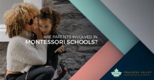 ARE PARENTS INVOLVED IN MONTESSORI SCHOOLS?